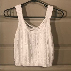 Hollister Knit Crop Top